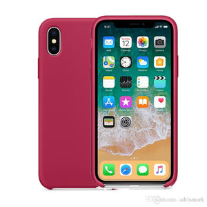 Silicone Case For iPhone 11 Pro Max 7 8 6Plus XS X