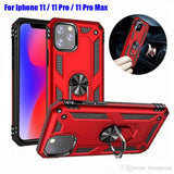 For iPhone 11, iPhone 11 Pro Max  Hybrid Armor Hard Back Case For