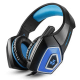 Hunterspider V - 1 3.5mm Headsets Bass Gaming Headphones with Mic LED Light for Mobile Phone PC Xbox - mobilecare17