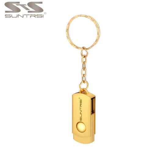 Suntrsi Pendrive Metal Key Chain USB Flash DriveCustom Logo Pen Drive Stick Real Capacity - mobilecare17