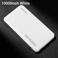 USAMS Power Bank 15mm Ultra Slim 10000mAh Powerbank Mobile Phone 2.1A Output 10000mah Universal Phone External Battery - mobilecare17
