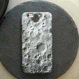 Moon surface texture for iphoneX case phone shell cosmos protective sleeve Tide