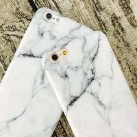 White Marble TUP Case For iPhone