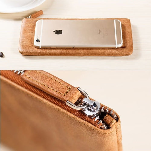 Universal Leather Wallet Case - mobilecare17