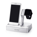 3 in 1 Charging Dock Station Triple Holder Stand For Apple watch for iwatch SmartWatch for iPhone Mobile Phone iPad Tablet - mobilecare17