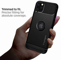 Tough Rugged Armor Designed for Apple iPhone 11 Pro Max Case (2019) - Matte Black