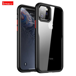 For Iphone 11 mobile 6.1 protective Case cover shatter-resistant 6.5 lanyard transparent soft shell - mobilecare17