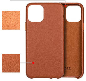 For iPhone 11, 11 PRO Genuine Leather Case Cover