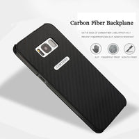 Protective Anti-knock Case For Samsung Galaxy S8 S8 Plus Note 8 Carbon fiber Mobile Phone Back Cover