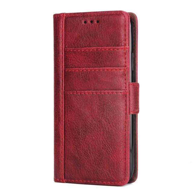 Luxury Leather Wallet Case for Iphone 8 7 6 6S Plus Card Slots Holder Stand Magnetic Flip 360 Book Cover for Iphone X XS MAX XR