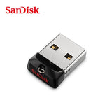 SanDisk USB 2.0 CZ33 Pen Drive 64GB 32G 16GB 8GB 100% Original mini USB Flash Drive Support official verification - mobilecare17