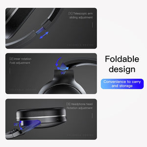 Baseus D02 Wireless Headphone Bluetooth 5.0 Earphone Handsfree Headset For Ear Head Phone iPhone Xiaomi Huawei Earbuds Earpiece - mobilecare17