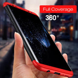 3 in 1 Phone Case 360 degree Protected case For Samsung Galaxy S8 Matte Phone Cover Phone Case For Samsung Galaxy S8 plus - mobilecare17