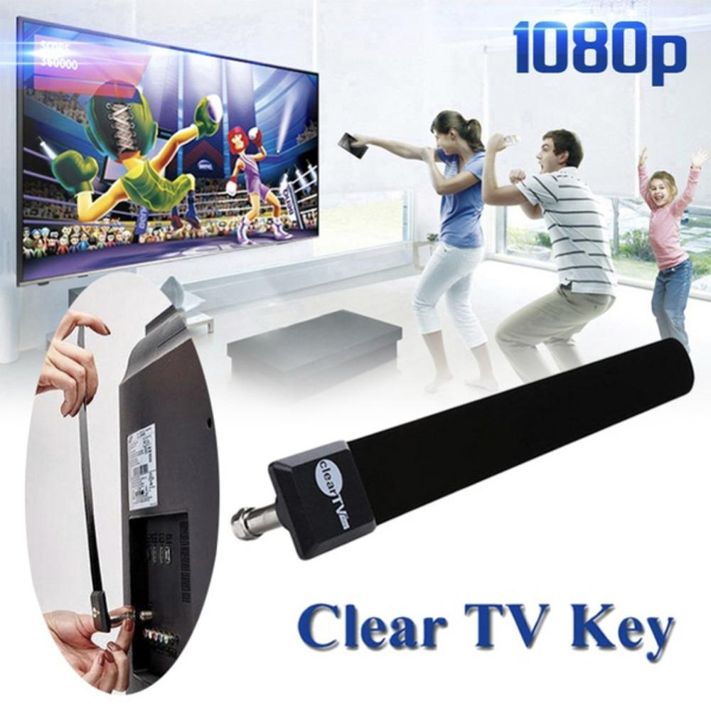 Digital TV Antenna Clear TV Key HDTV Free TV Stick Satellite Indoor Antenna Receiver Signal Enhancement - mobilecare17