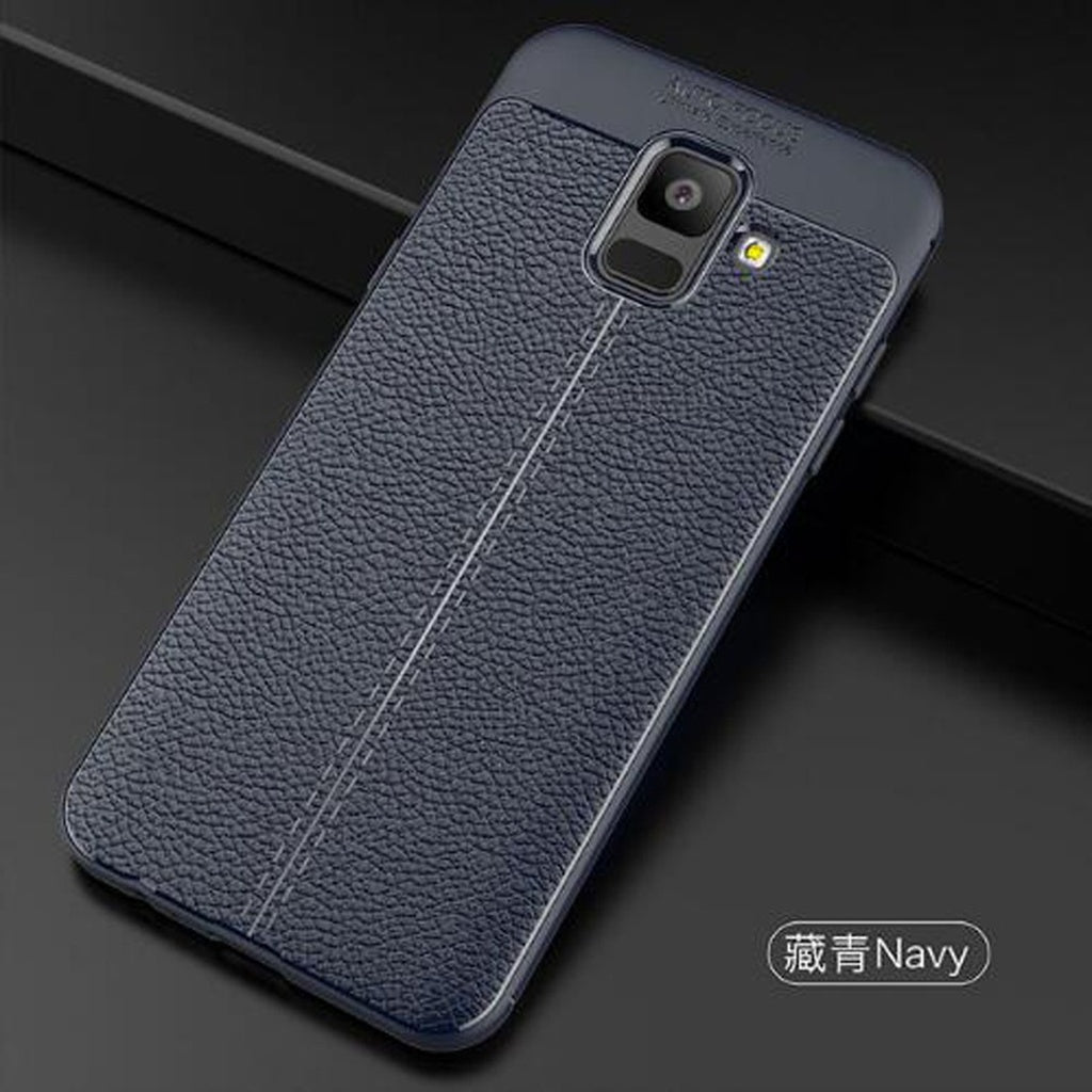 For Samsung Galaxy A6 2018 Case Carbon Fiber TPU Silicone leather Soft Full Back Cover For Galaxy A6 Plus 2018 shockproof Coque - mobilecare17
