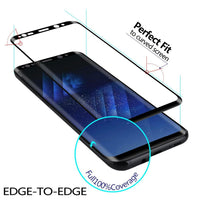 XO NEW 3D 9H Explosion-proof Curved Full Cover Screen Protector for Samsung Galaxy S8 8 PlusTempered Glass - mobilecare17