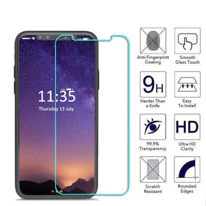 XO Screen Protector for iPhone X 9H Tempered Glass Screen Protector Ultra Clear Anti-Scratch Glass Film - mobilecare17