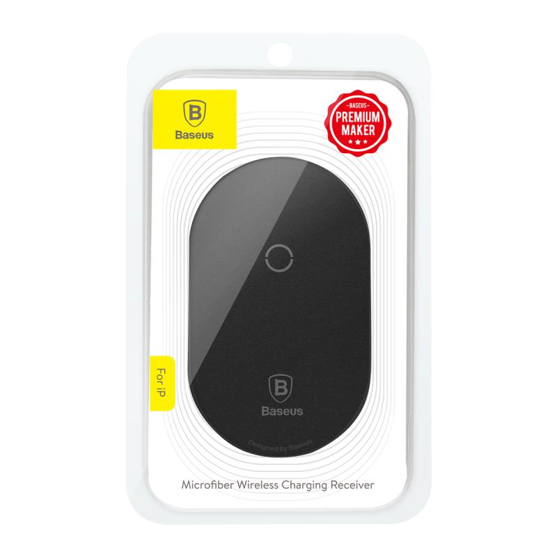 Baseus QI Wireless Charger Receiver For Lightning 8Pin & Micro USB & Type C Charging Adapter - mobilecare17