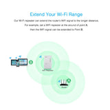 Wireless WIFI Repeater 300Mbps Network Antenna Wifi Extender Signal Amplifier 802.11n/b/g Signal Booster Repetidor Wifi - mobilecare17