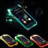 LED Flash Light Up Case Remind Incoming Call Cover For Samsung Galaxy A3 A5 A7 J5 J7 2016 Note 4 5 S6 S7 Edge