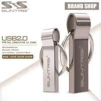USB Flash Drive Metal Steel Pen Drive High Speed Key Chain USB Stick Flash Drive Memory - mobilecare17