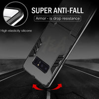 Full Cover Shockproof Armor Phone Case For Samsung Galaxy S9 S8 Plus S7 Edge Matte Protective Cover For Samsung Note 8 Case - mobilecare17