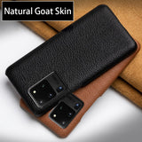 Leather Phone Case For Samsung S20 Ultra S7 S8 S9 S10 Lite