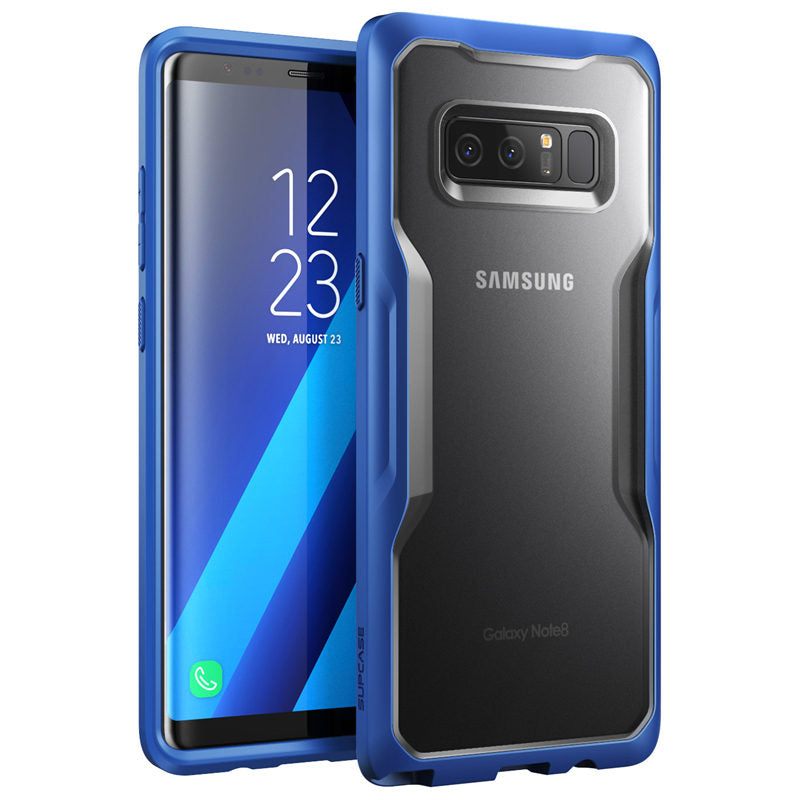 For Samsung Galaxy Note 8 Case Premium Hybrid TPU Bumper + PC Back Case