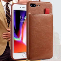 PU Leather Wallet Phone Case For iPhone X 6 6s 7 8 Plus Case Luxury Pull Type Card Slots Back Cover For iPhone X 10 8 Plus