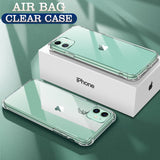 For iPhone 11Pro 11 Pro Max Luxury Transparent Acrylic Plate Case