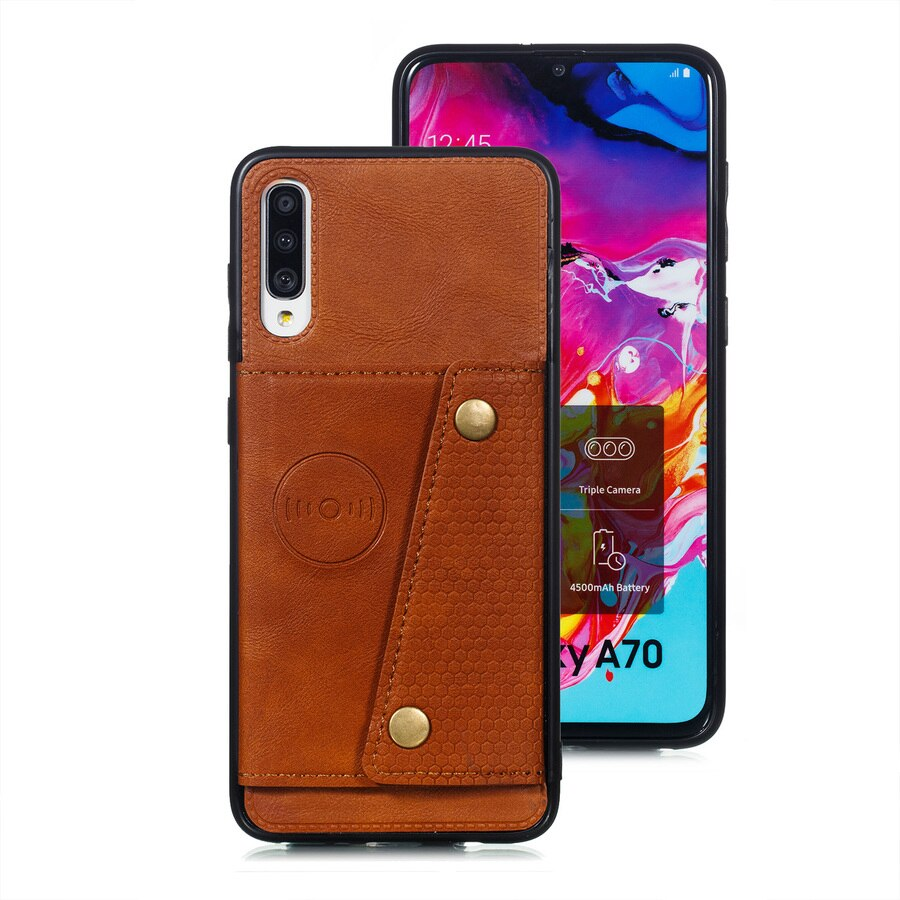 For Samsung A21 A51 A71 A81 A91 A10 A20 Wallet Case Leather Card Holders Case Cover for Samsung A50