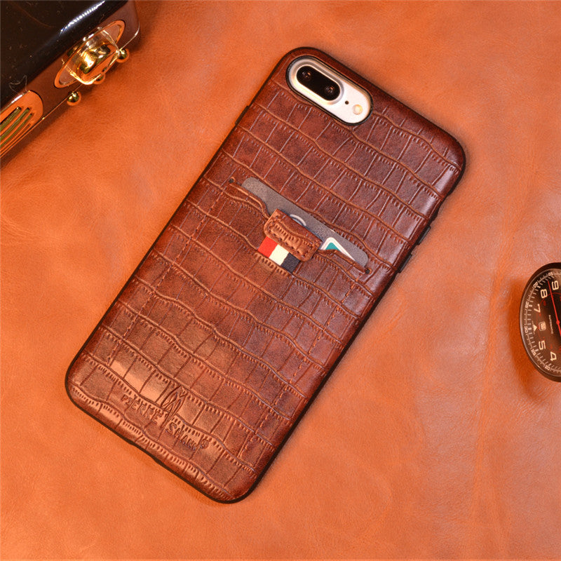 For iPhone SE (2020) 11 Pro 11 Pro Max Crocodile Skin Wallet Leather Case