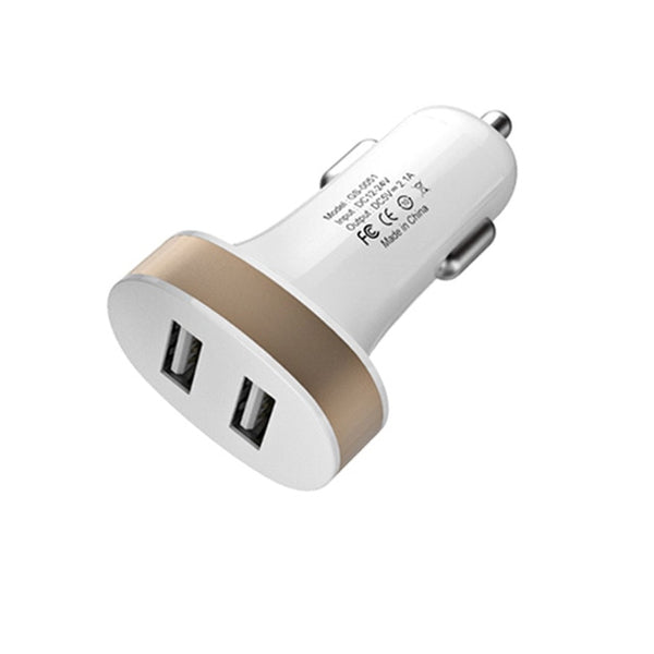 USB Car Charger For Phone 5V 2.1 A Mobile Phone Charger For iPhone Fast USB Charger Adapter
