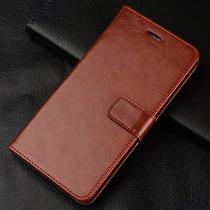 PU Flip Leather Wallet Case For Honor 7C Pro Case On Honor 7A 7 A DUA-L22 Phone Case - mobilecare17