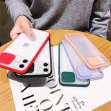 Case For Apple iPhone 7/8/7P/8P/X/XS/XR/XS Max/11/11 Pro/11 Pro Max Shockproof Back Cover Transparent TPU / Plastic