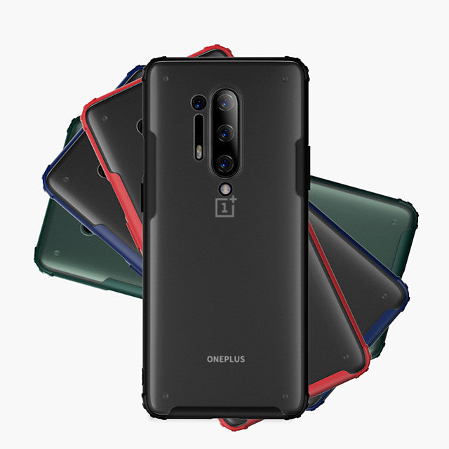Case For OnePlus OnePlus 8 / OnePlus 8 Pro Ultra-thin Back Cover Solid Colored Acrylic