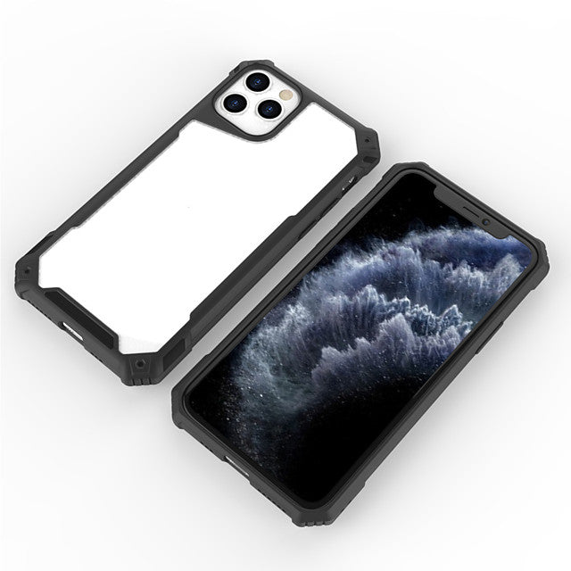 Case For Apple iPhone 11 / iPhone 11 Pro / iPhone 11 Pro Max Frosted Back Cover Tile TPU