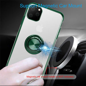 Finger Ring TPU Holder Stand Case For Apple iPhone 11 Pro Max XR XS Max