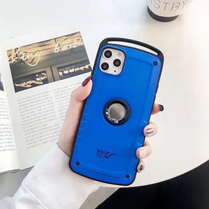iPhone11Pro Max Military-grade Anti-fall Mobile Phone Case XS Max Silicone Protective Sleeve 7 / 8Plus Protective Sleeve