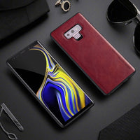 Luxury PU Leather Case For Samsung Note 9 Cases Soft Silicone Edge Shockproof - mobilecare17