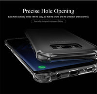 TPU Soft Silicone Phone Shockproof Back Cover Case for Samsung Galaxy S10 Plus S10e S8 S9 Plus Note 9 8 S7 - mobilecare17
