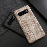 Crocodile Pattern Synthetic Leather Case For Samsung Galaxy Note 10 Plus / S10 Plus