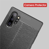 Soft Leather Case For Samsung Galaxy Note 10 Pro Note 10 Plus Luxury Soft Silicone TPU Cover - mobilecare17