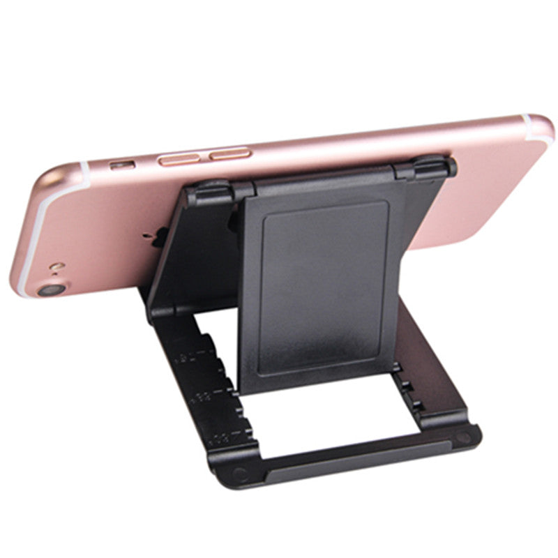 Phone Holder Desk Stand For Your Mobile Phone Tripod For iPhone Xsmax Huawei P30 Xiaomi Mi 9 Plastic Foldable Desk Holder Stand