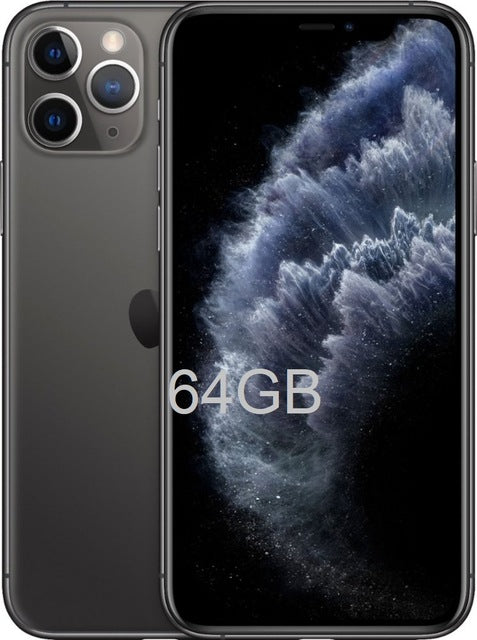 "BUY Apple iPhone 11 Pro/Pro Max Triple Rear Camera 5.8/6.5"" Super AMOLED Display IOS 13"
