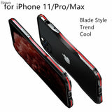 For iPhone11/ PRO MAX Luxury Ultra Thin Aluminum Bumper Case Cover