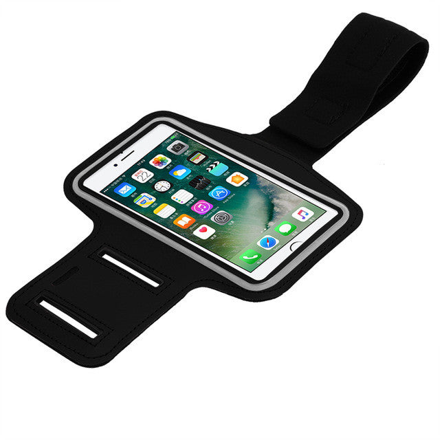 Sport Phone Bag Case Sports Running Armband Phone Holder Bag Pouch Touch Screen Access for iPhone 7 Plus 6 6S Plus Samsung S6 - mobilecare17