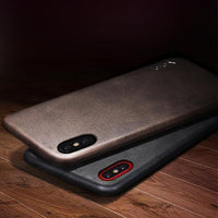 X-Level Leather iPhone 6 7 8 XS Vintage look Case cover - Exclusive and Limited Edition