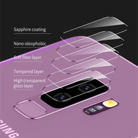 Screen Protector Tempered Glass For Samsung Galaxy S9 S9 Plus Camera Lens Glass Film For Galaxy S9 S9+ Back Len Film - 2PCS