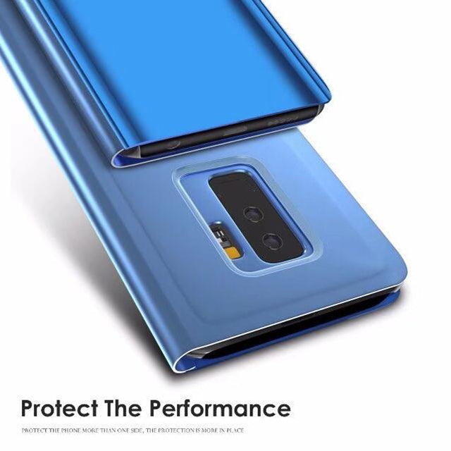 Luxury Smart Mirror View Case For Samsung Galaxy S8 S9 - mobilecare17